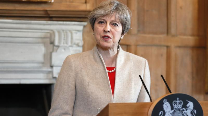 Britain's Prime Minister Theresa May (Photo: AP)