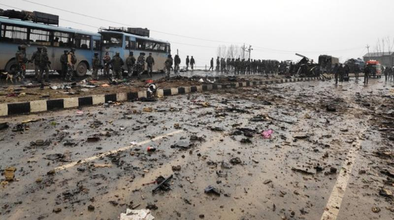 This was the first suicide car bomb strike in Kashmir since the 2001 attack on the Jammu and Kashmir Legislative Assembly that left 41 persons, including three suicide attackers, dead.