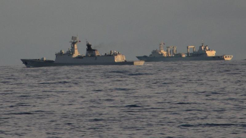 Officials are keeping a watch at critical points and surveillance through radars along the coast. (Photo: Twitter / @indiannavy)