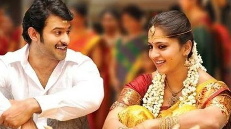 Prabhas and Anushka Shetty in a still from 'Mirchi.'