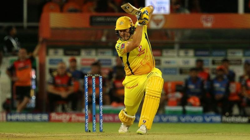 Watson scored a record 1024 runs for Thunder and included a century at the Gabba last season.  (Photo: BCCI)