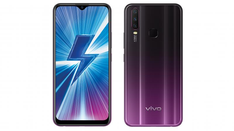 The Y17 features a 13MP Main Camera, 8MP AI Super Wide-Angle Camera, and a third 2MP Depth Camera.