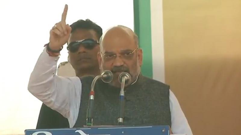 BJP chief Amit Shah (Photo: Twitter | @BJP4India)