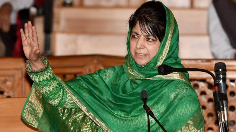 Mehbooba Mufti said her father made the BJP understand that the Article 370 is a bridge between Kashmir and the rest of the country and if it was revoked, 'you will be finished'. (Photo: File | AP)