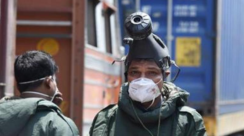 The incident took place at the godown at the Bajrangbali scrap market on Monday. Pungent smelling gas from the godown had filled the air, prompting residents to rush out of their homes.  (Photo: Representational | PTI)