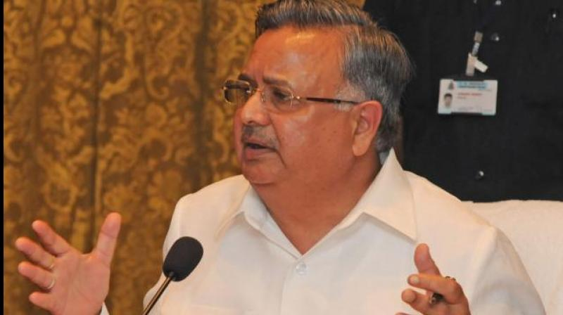 Former Chhattisgarh chief minister Raman Singh. (Photo: File)