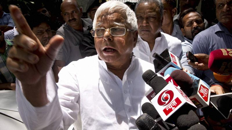 The court had convicted RJD chief Lalu Prasad Yadav for offences of cheating, along with criminal conspiracy, under the Indian Penal Code (IPC) and the Prevention of Corruption Act. (Photo: PTI)