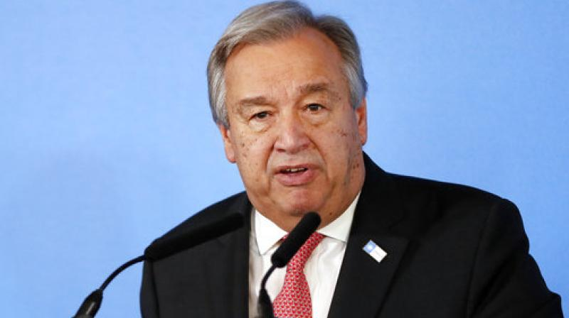 UN Secretary General Antonio Guterres. (Photo: AP)