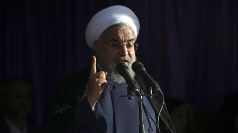 Incumbent  Iranian President Hassan Rouhani (Photo: AP)