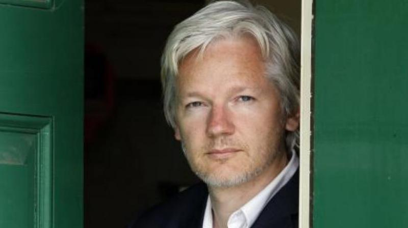 Assange is currently in prison in Britain after being sentenced to 50 weeks behind bars last month. (Photo:AP)