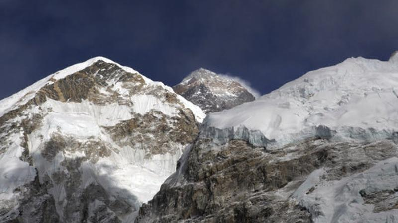 Both climbers had completed training and scaled two smaller peaks.