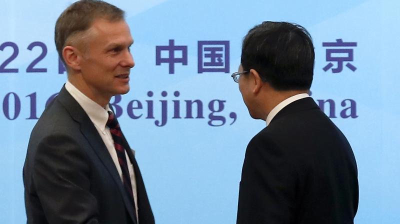 US Diplomat to China David Rank. (Photo: AP)