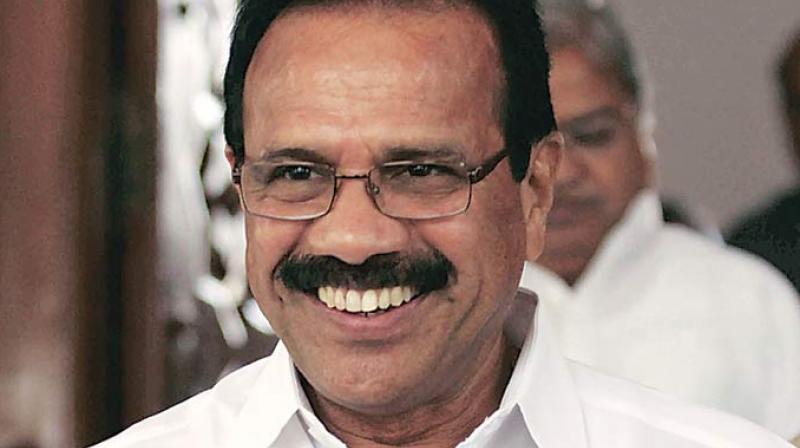 Minister for Chemicals and Fertilisers D V Sadananda Gowda. (Photo: File)