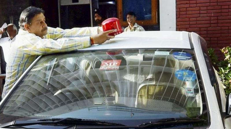 The matter regarding the purchase of these lights was discussed in the police headquarters. (Representational image)