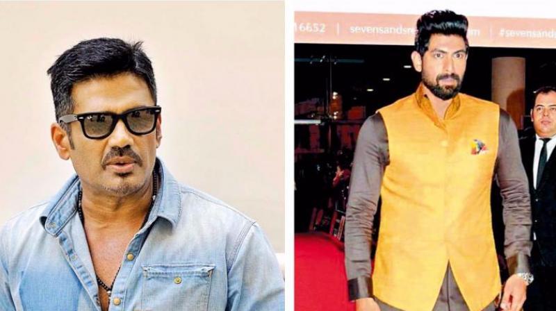 Suniel Shetty and Rana co-own Bahubali Boxers