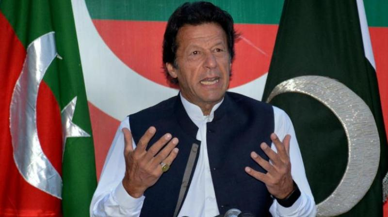 Pakistan Tehreek-e-Insaf chief Imran Khan (Photo: AP)