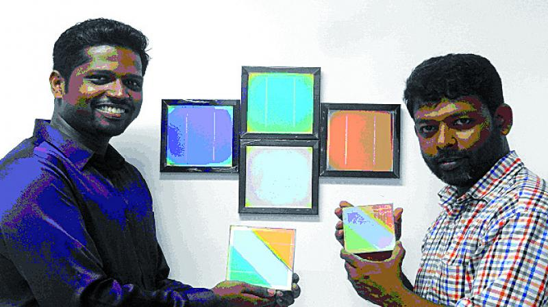 IIT Bombay inventors, professor Dr Aldrin Antony and Ph.D student Anishkumar Soman of Energy Science Department of the institute, are the brains behind the invention.