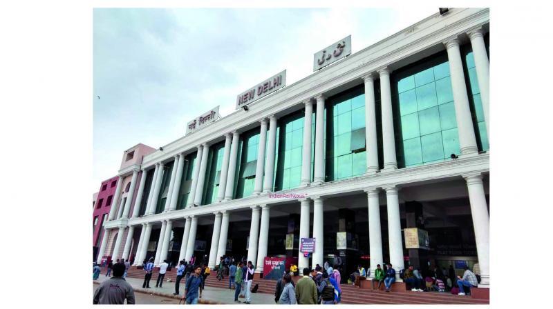 New Delhi Railway Station.