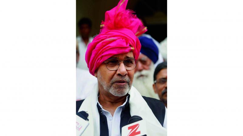 Nobel laureate Kailash Satyarthi addresses the media on Wednesday.  (Photo: PTI)
