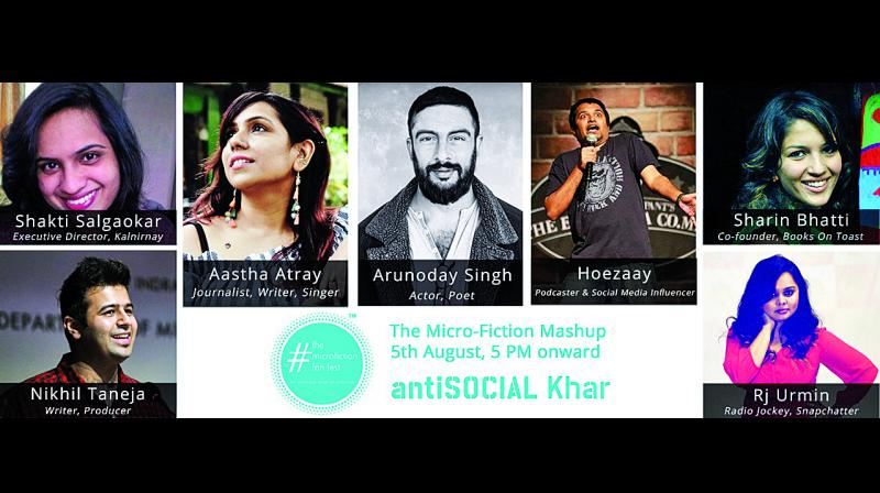 Fans of the tiniest type of storytelling will exchange ideas and newer concepts at Anti Social, Khar.