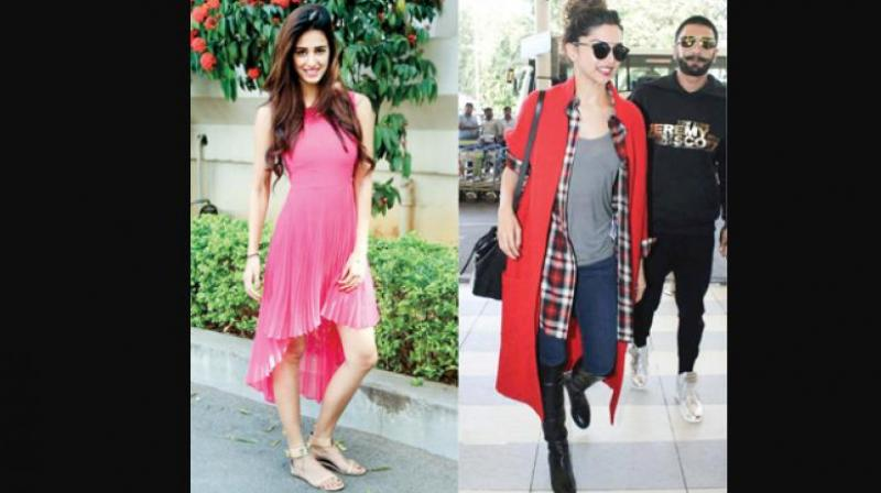 Bollywood actresses shows to slay it in asymmetrical dresses, which are a hit this season.