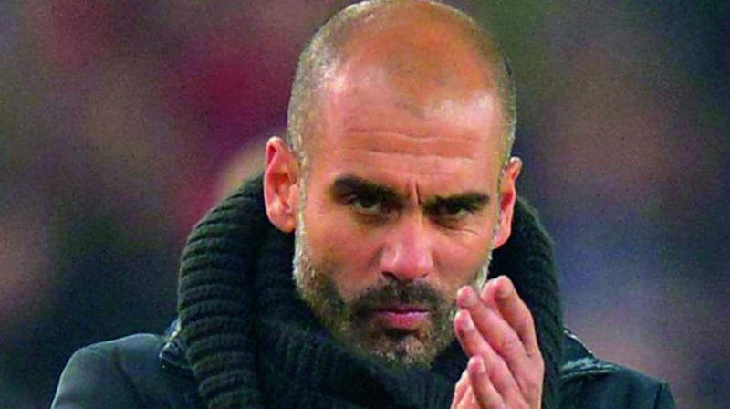 Guardiola is bidding to add a second Premier League title to go with the three he won in Germany and three in Spain with Bayern Munich and Barcelona. (Photo: File)
