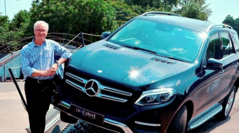 Michael Folger, the managing director and CEO of Mercedez India Pvt Limited. Photo: PTI