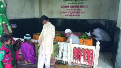 Have problems? Head to Matka Peer dargah