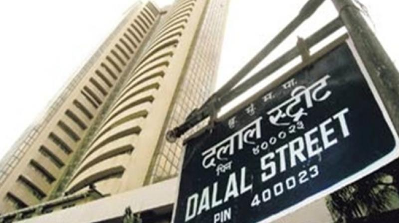 The 30-share index settled 106.41 points, or 0.29 per cent, down at 36,106.50. (Photo: PTI)