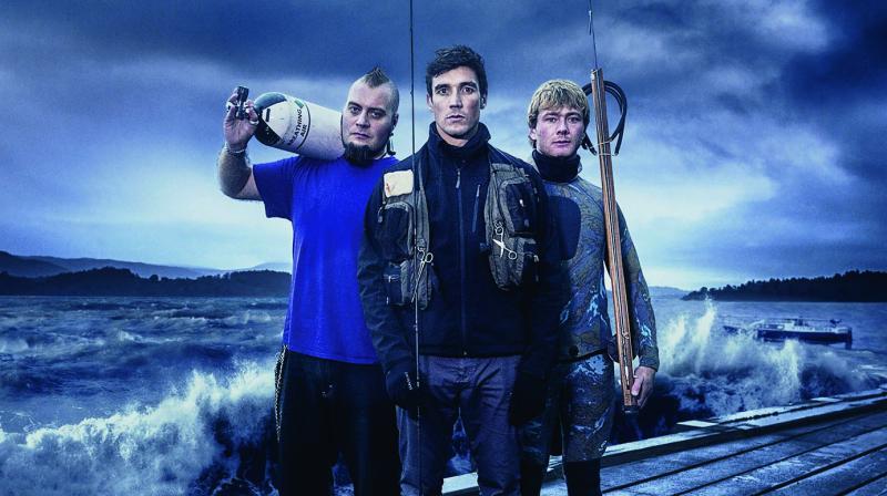 The Blowfish, Charlie Butcher, and Jason.