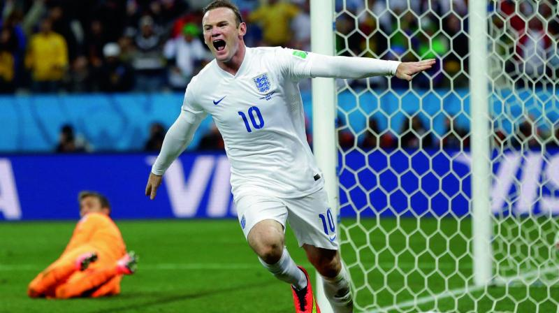 Wayne Rooney, England's record goalscorer, netted 53 times in 119 appearances for his country. (Photo: AP)