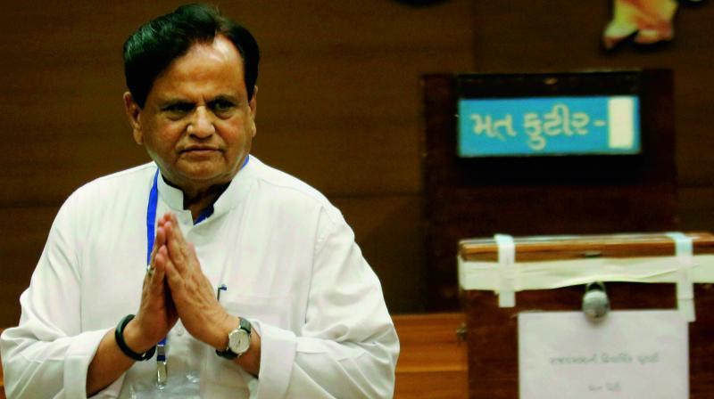 Rajya Sabha MP Ahmed Patel