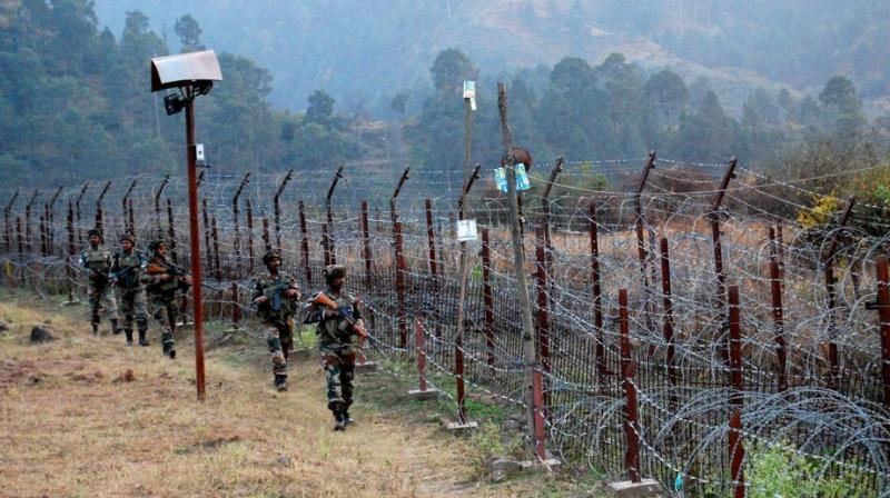 Pakistani troops resorted to unprovoked and indiscriminate firing on forward posts in the Manguchak area around 11.30 pm on Monday night . (Representational Image)
