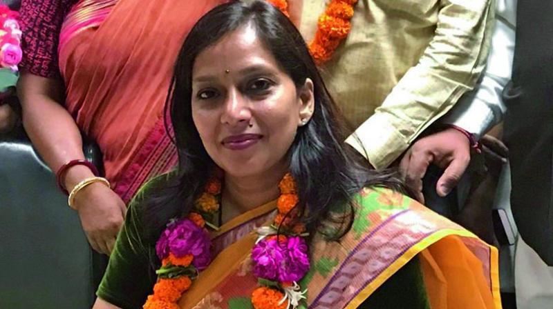 North Delhi Mayor Preety Agarwal