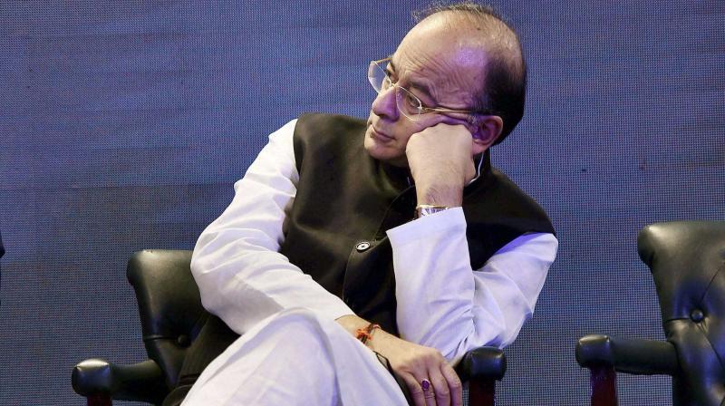 Union Finance Minister Arun Jaitley (Photo: File)