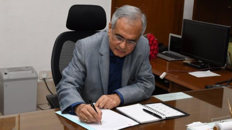 Niti Aayog Vice Chairman Rajiv Kumar. (Photo: Twitter| @NITIAayog)