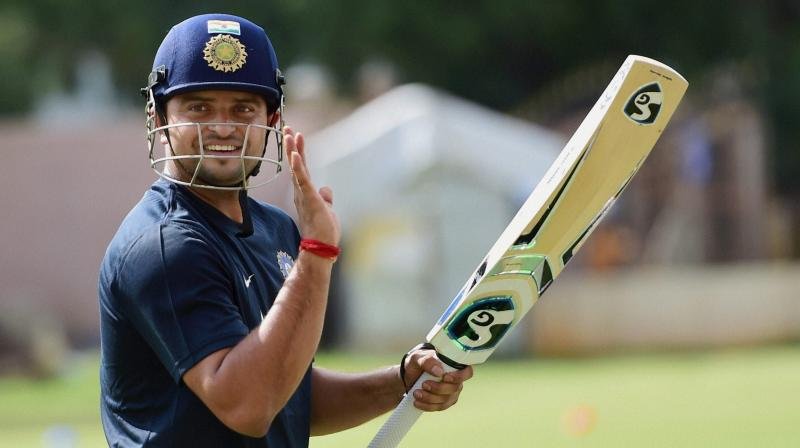 Suresh Raina is one of the few Indian players to have played a match with the pink-ball. (Photo: File)