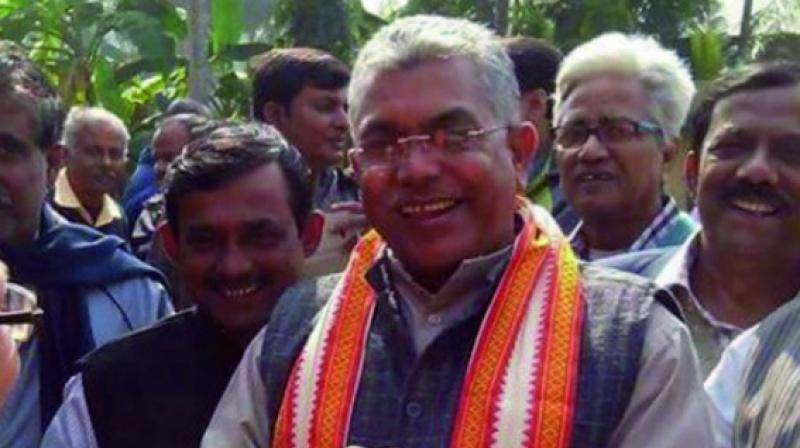 West Bengal BJP president and Midnapore MP Dilip Ghosh