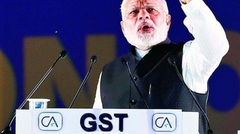The government has tasked taxmen with bringing half the 6 crore private businesses in India in the GST net. Photo: PTI