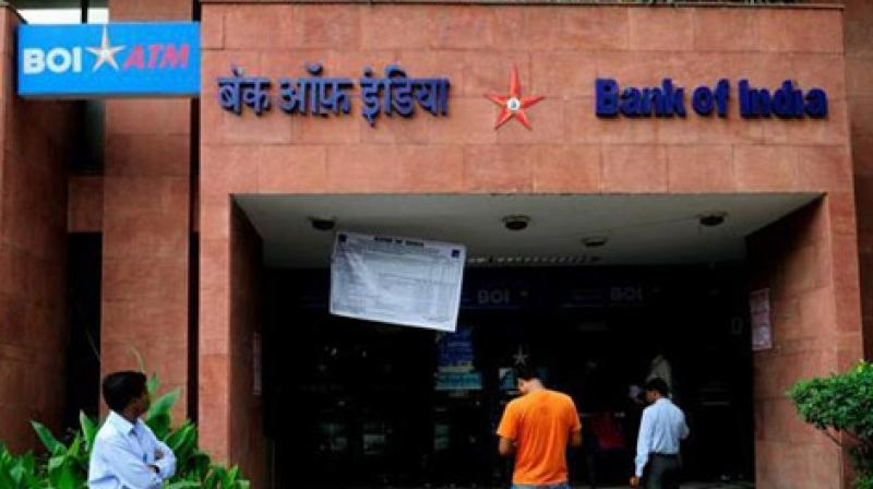 State-run Bank of India on Thursday said it has increased its marginal cost of funds based lending rate (MCLR) by 0.05 per cent for overnight and one month tenure, effective October 10. (Photo: PTI)