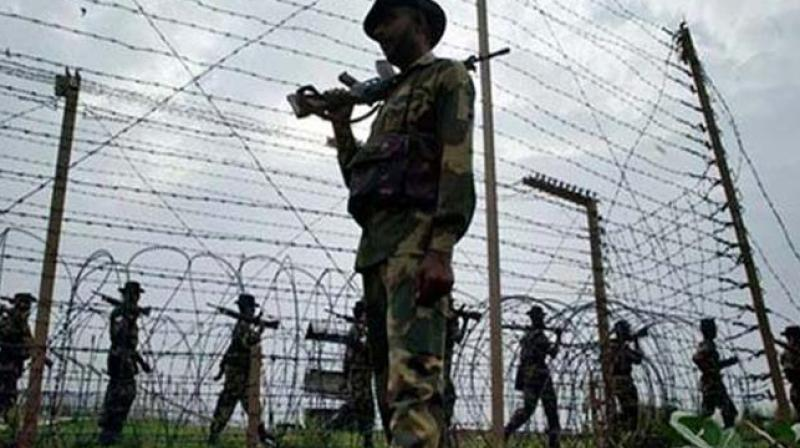 In the last 35 days since the start of the new year, seven Indian Army soldiers and two BSF personnel have lost their lives due to Pakistan shelling from across the LoC.  (Photo: AP)