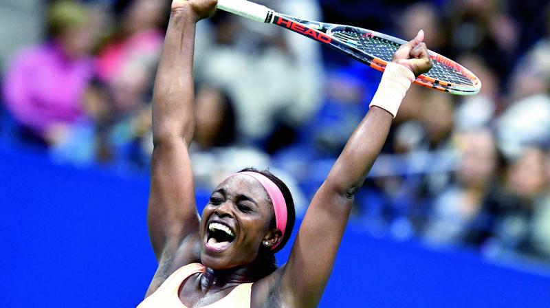 Jakupovic was serving for the first set and Williams was on the back foot before the qualifier wilted under the pressure and 43rd-ranked Williams booked a second-round matchup against Spanish 24th seed Carla Suarez Navarro. (Photo: AFP)