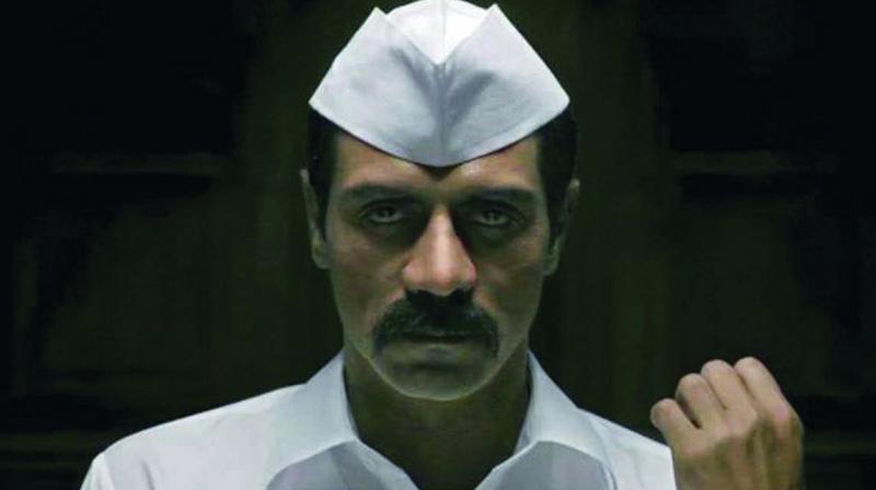 Arjun Rampal in a still from 'Daddy'.
