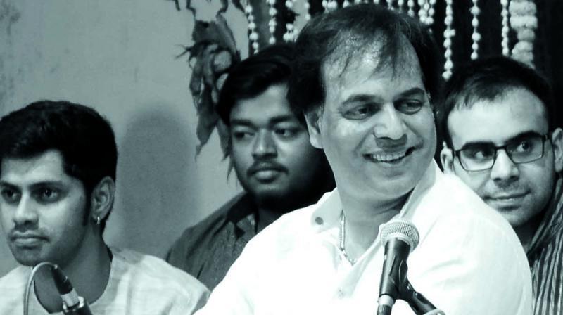 Pandit Sanju Sahai (Photo: Rakesh Sinha)