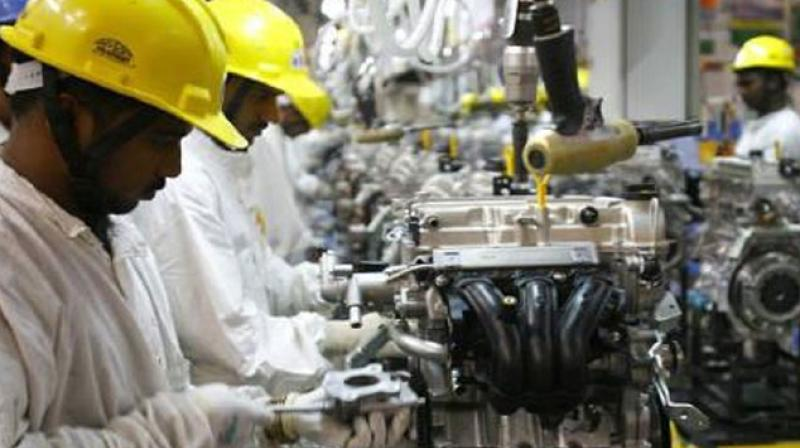 Index of Industrial Production records 5-months low growth of 4 4 pc