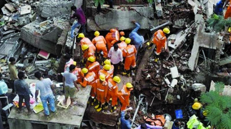 A National Disaster Response Force (NDRF) team is still carrying out the search and rescue operations at the spot. (Photo: File)
