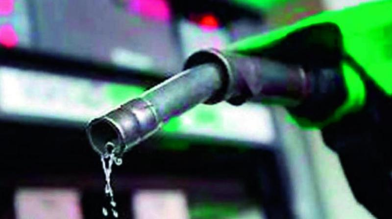 Daily price notification issued by oil firms showed static petrol and diesel price since April 24.