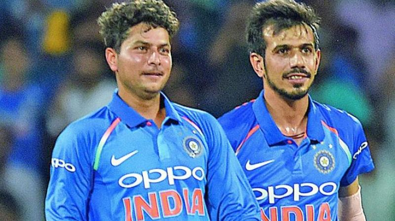 Spinners Kuldeep Yadav and Yuzvendra Chahal flourish together