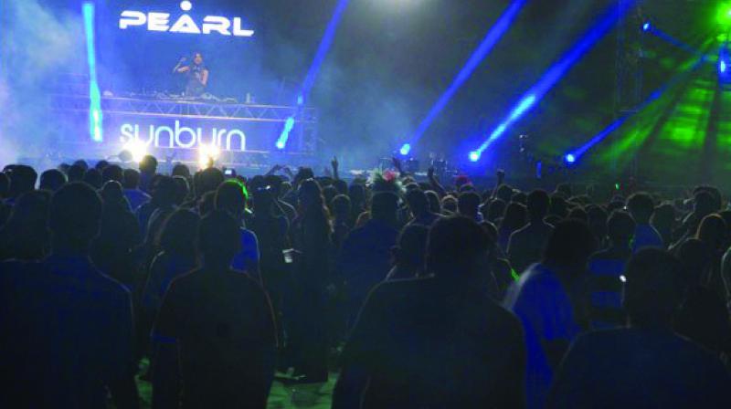 The Sunburn festival