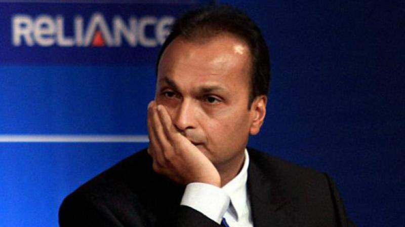 Shares of Reliance Communications (RCom) on Tuesday slumped over 9 per cent in morning trade after the collapse of its Aircel merger deal. Photo: PTI